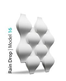 Panel dekoracyjny 3D Rain Drop