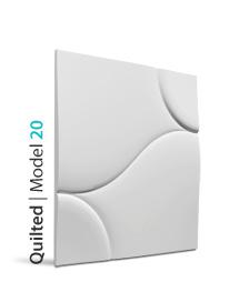 Panel dekoracyjny 3D quilted
