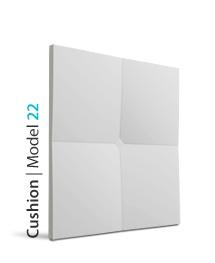 Panel dekoracyjny 3D Cushion