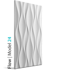 Panel dekoracyjny 3D Flow