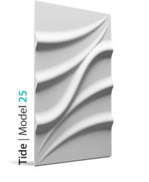 Panel dekoracyjny 3D Tide