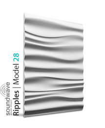 Panel dekoracyjny 3D Ripples