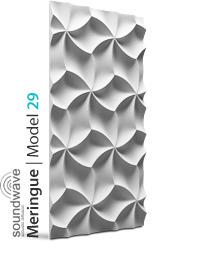 Panel dekoracyjny 3D Meringue