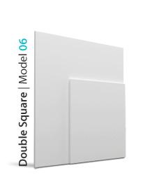 Panel dekoracyjny 3D Double square