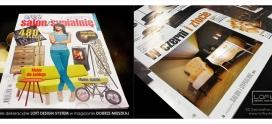 Loft Design System w nowym numerze Dobrze Mieszkaj