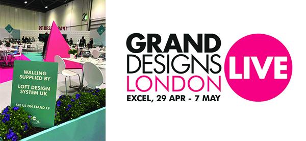 Loft Design System na Grand Designs Live w Londynie