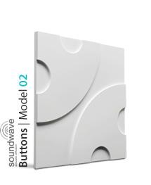 Panel dekoracyjny 3D Buttons