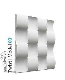 Panel dekoracyjny 3D Twist