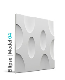 Panel dekoracyjny 3D Ellipse