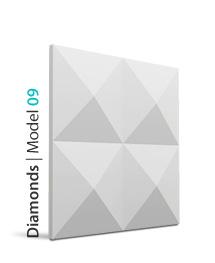 Panel dekoracyjny 3D Diamonds