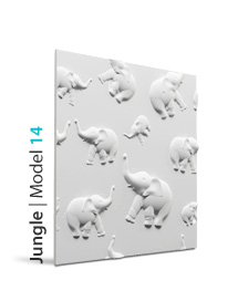 Panel dekoracyjny 3D Jungle