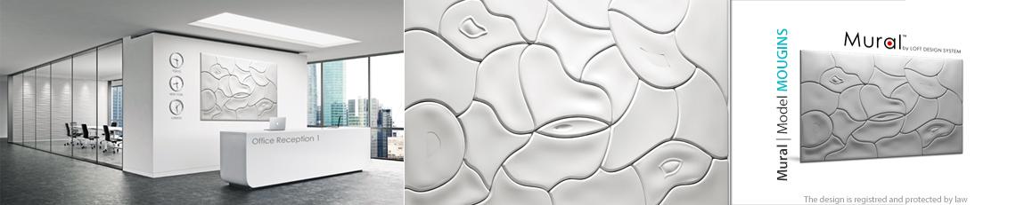mougins panel dekoracyjny 3D mural