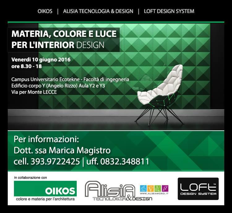 Lecce_projektowanie_wnetrz_kolor_material_swiatlo_sztuczne_naturalne 10/06/2016 Loft Design System