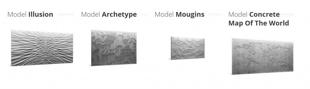 panele-dekoracyjne-3d-mural-illusion-map-mougins-archetype