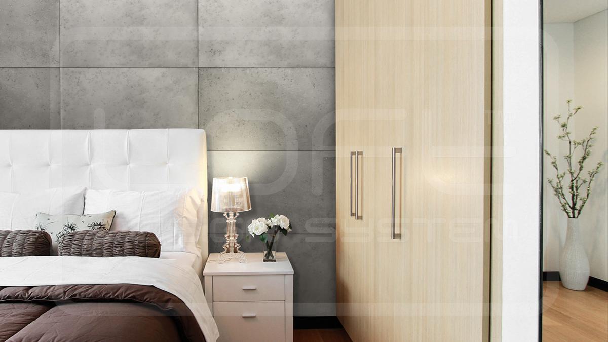 Panel ścienny 3D – Loft Concrete Dove Grey 100×60 cm
