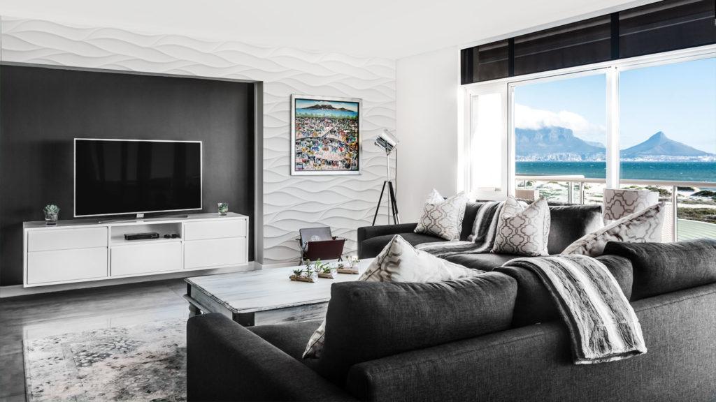 panele ścienne 3d panele dekoracyjne loft design system model 21 Sand Storm salon